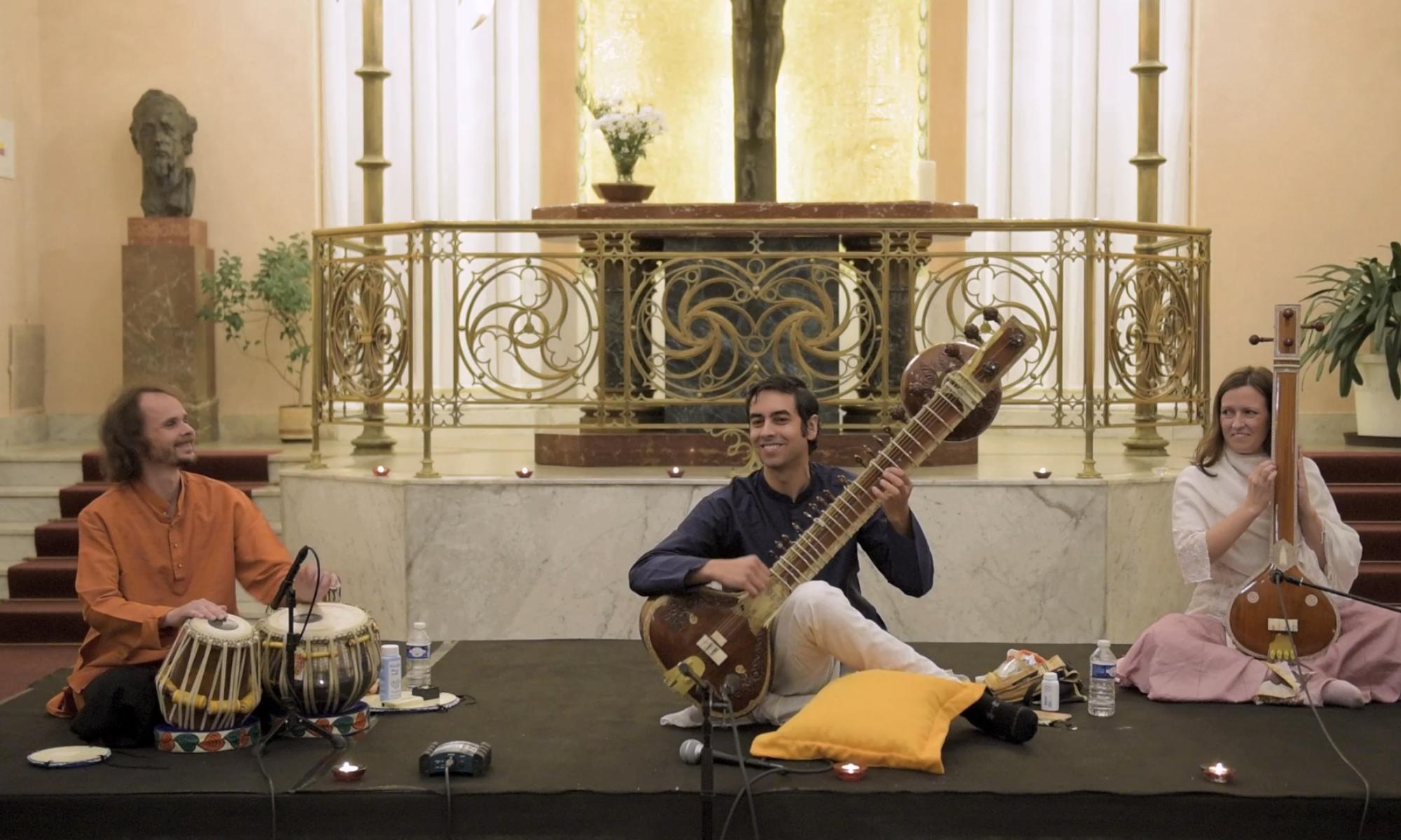 Pražský koncert Arjuna Vermy